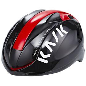 Kask Infinity Kask rowerowy czerwony/czarny